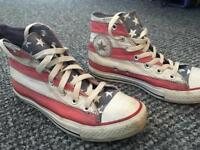 Vintage American flag converse UK 5