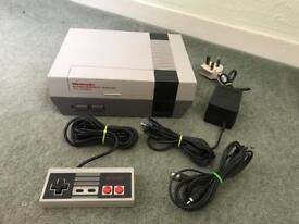 Nintendo NES console.