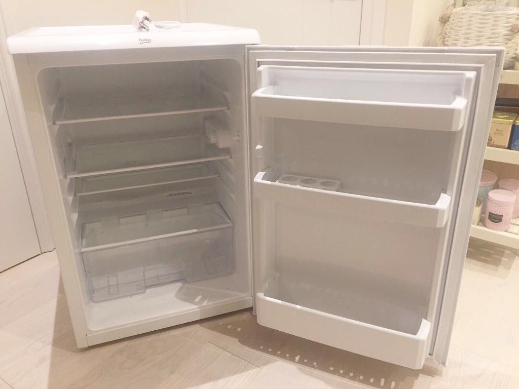 Beko half size fridge - under counter fridge