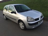 2005 RENAULT CLIO 1.2 # 3 DOOR # LOW INSURANCE # M.O.T TO JANUARY 2019