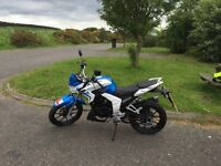 Lexmoto Venom 125cc SK125-22 for sale. Immaculate condition, 2015 (15 plate), built in MP3 player!