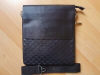 ARMANI LEATHER SIDE BAG