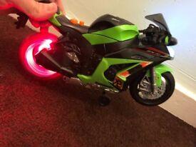 Kawasaki toy wheelie bike