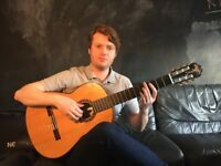 Quality guitar tuition from an experienced and versatile guitarist.