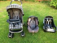 Graco travel system and car seat base