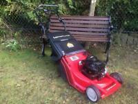 "Self Drive Roller Petrol Lawnmower Large 18"" Cut"