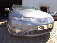 56 HONDA CIVIC 1.8,5 DOOR,MOT JUNE 017,PART SERVICE HISTORY,3 OWNERS FROM NEW,STUNNING FAMILY CAR