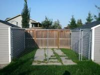 Dog Run/Kennel sections with gate $30.00 for both