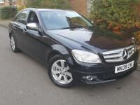 2008/08 Mercedes-Benz C Class 1.8 C180 Kompressor SE 4dr FSH BY MERCEDES 1KEEPER 2KEYS 156Bhp Mobile