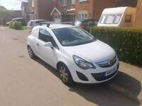 Vauxhall Corsa Van 1.3cdti 2014 (95ps) Glacier White GENUINE AIR CONDITIONING