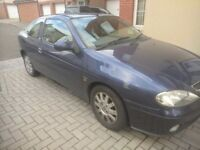 Renault Megane Fidgi Coupe. Reliable, low mileage car.