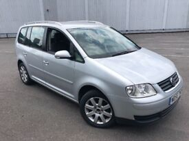 2006/56 VOLKSWAGEN TOURAN 2.0L DIESEL 7 SEATER EXCELLENT CONDITION FULL SERVICE HISTORY