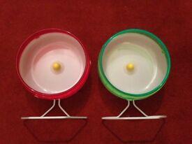 Hamster Accessories - Kaytee Superpet Silent Spinner Wheel, 6.5 Inch Regular