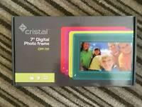 Cristal digital photo frame