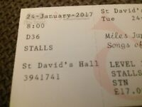 Miles Jupp Tickets 24/1 - pair great seats