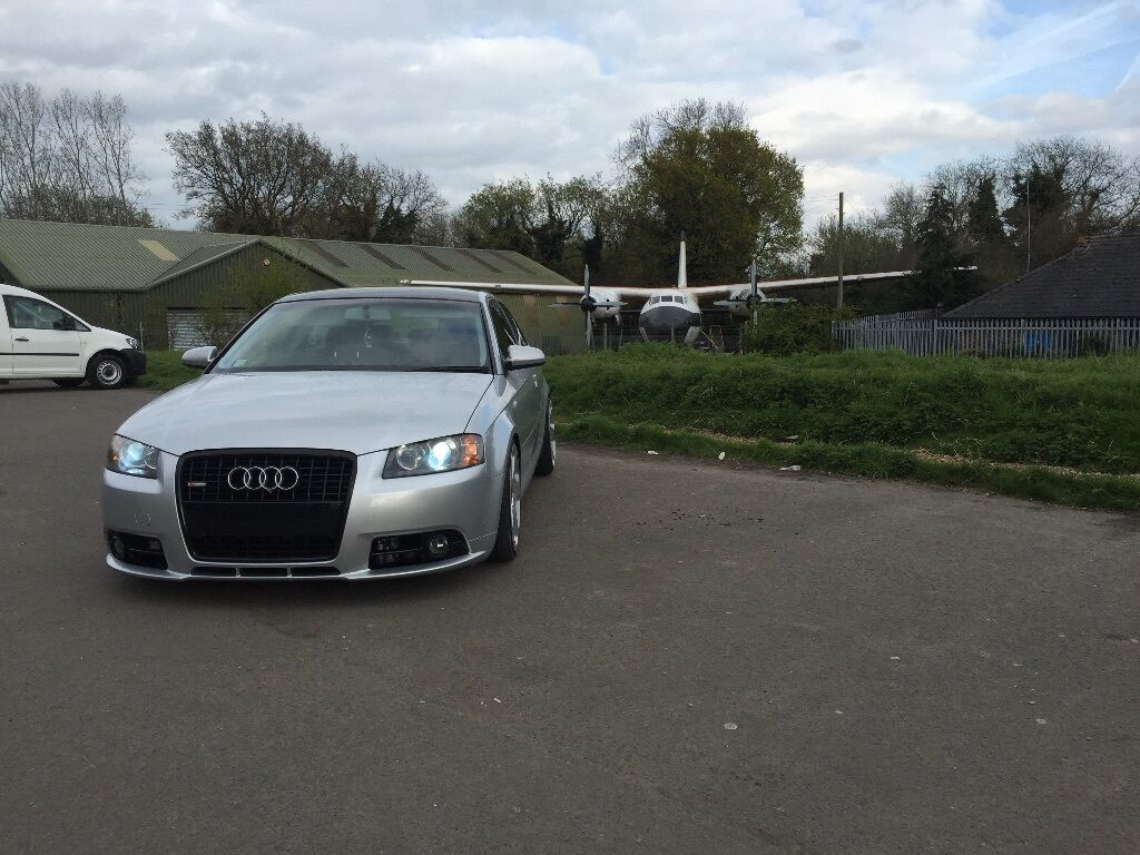 Audi A3 2005 Sline Coilovers Leather Seats Rotiform Lowered