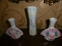 3 small vase set