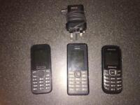 Nokia, Samsung, Alcatel phones