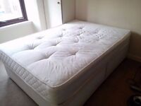 Double Bed and Bed Frame - EXCELLENT CONDITION