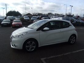 2012 62 PEUGEOT 208 2.1 ACTIVE 3D 82 BHP **** GUARANTEED FINANCE **** PART EX WELCOME ****
