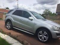 Mercedes Ml350 cdi blue efficiency full years MOT px welcome