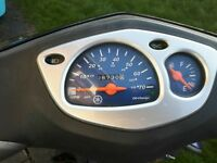 Yamaha Cygnus 125 CC, immaculate condition, low mileage, 12 month MOT, careful lady driver