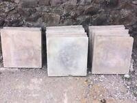 Patio slabs for sale 600 x 600 x 50 or 2ft x 2ft x 2 inch.
