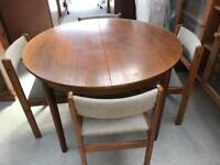 Extending dining table and chairs FREE DELIVERY PLYMOUTH AREA