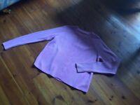 Women's Jack Wills pink jumper size 16