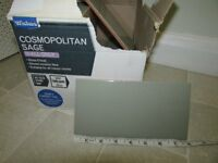Ceramic Tiles - Cosmopolitan Sage, Wickes £4