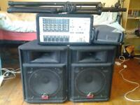 Wharfedale Pro PMX 615 Complete PA System.