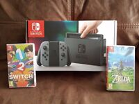 Switch With 2 Games Receipt Swap for a Macbook Pro or iMac