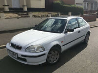 1997*HONDA CIVIC 1.5I LS AUTOMATIC*1 OWNER*FULL SERVICE HISTORY*LOW MILES*AIR CON