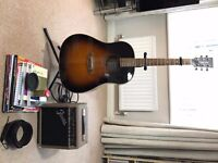 Tanglewood Acoustic Electric Guitar