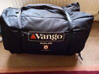 Vango Diablo 600 - 6 man Tent used 3 times vgc