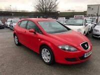 SEAT LEON 1.9 TDI 5 DOOR /ONE OWNER /3 KEYS /LONG MOT /FSH /86K MILES