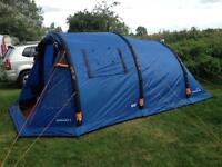 Air beam tent