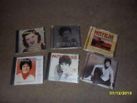 Set of Six Patsy Cline CD's