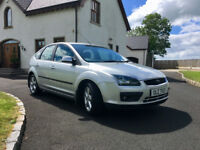 2007 Ford Focus 1.6 TDCI Climate Silver Economical Great Driving Car