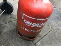 Gas bottle 13kg and gas Barbeque