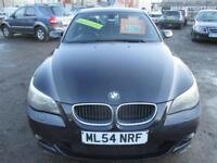 BMW 5 SERIES 525d Sport 4dr (black) 2004