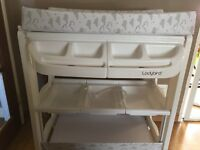 Excellent condition-baby changing unit and bath