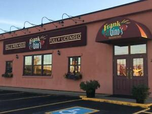 Frank & Gino's Grill and Pasta House Franchise Opportunity
