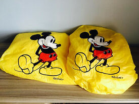 Two Disney rain&snow covers, take both for only £5,immaculate,exactly as seen in pictures