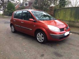 2006 06 NEW MODEL RENAULT SCENIC 1.6 VVT DYNAMIQUE MPV EXCELLENT CONDITION ONLY 595
