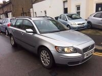 VOLVO V50 2.0 DIESEL SPORT ESTATE MANUAL 2005 1 FORMER OWNER 10 STAMPS ENGINE LIGHT ON