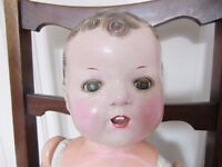 Vintage 1940s doll beautifully restored