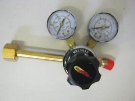 New CO2 Twin Gauge Regulator - Mig Welding