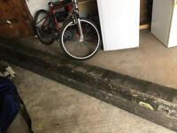 Timber Beams 5.85m lengths x2