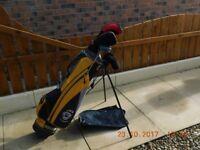 Junior Golf Clubs / Trolley